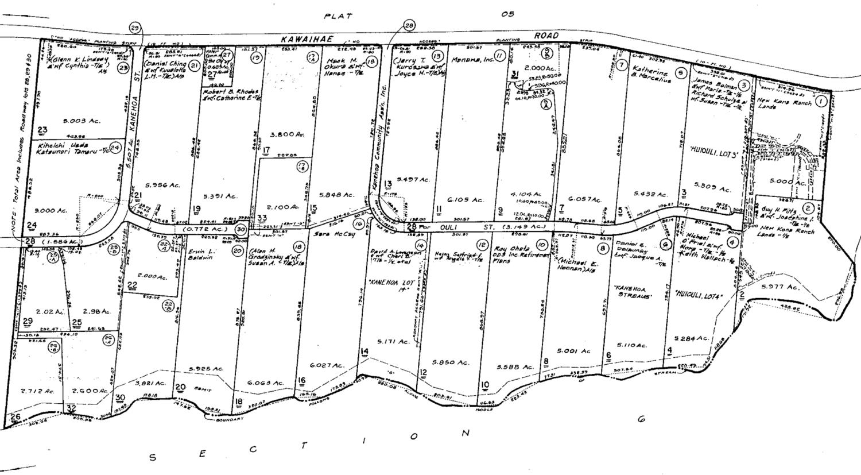 Kanehoa Plat Map